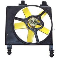 Ford Fıesta- 96/99 Radyatör Fan Davlumbazı Komple 1,3Cc
