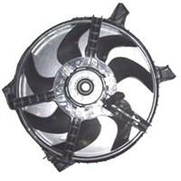 Renault R19- Europa- 92/01 Radyatör Fanı Motorlu (7Kanat)