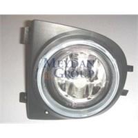 Nıssan Mıcra- K11- 98/02 Sis Lambası Sol Yuvarlak Şeffaf