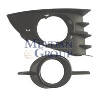 Renault Scenıc- Iı- 06/09 Sis Lamba Kapağı Sağ Sisli Siyah 2Par