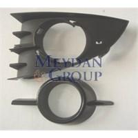 Renault Scenıc- Iı- 06/09 Sis Lamba Kapağı Sol Sisli Siyah 2Par