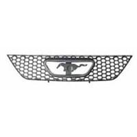 Ford Mustang- 01/04 Ön Panjur Nikelajlı (İç Petekleri Siyah)