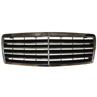 Mercedes E Class- W210- 00/02 Ön Panjur Komple Nikelajlı/Siyah