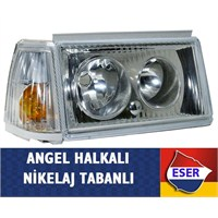 ESER SOL Tofaş Kuş Serisi Angel Tipi Komple Far+sinyal 49c002