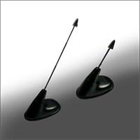 Trimax 998 Siyah Tavan Spor Anten Süsü
