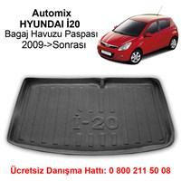 Automix Hyundai İ20 Bagaj Havuzu Paspası 2009->Sonrası Siyah