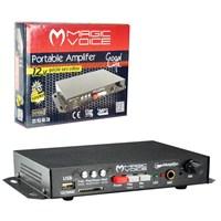Magicvoice Mv-129 Monte Edilebilir Seyyar Oto Anfi