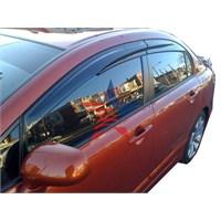 Sunplex Mugen Model Renault CLIO SYMBOL 2007 Üzeri Ön-Arka Rüzgarlık Seti 42c036
