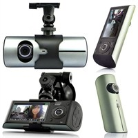 Mastek Gps Destekli Hd Çift Kameralı Araç İçi Kamera