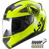 Ls2 Ff352 Fan Neon Sarı Kask Xs