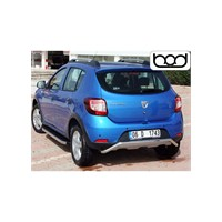 Bod Dacia Sandero Stepway Krom Arka Koruma 2007-2012
