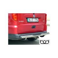 Bod Fiat Doblo Sport Arka Koruma Bariyeri 2001-2009