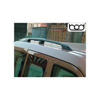 Bod Ford Connect-Uzun Alüminyum Port Bagaj-Siyah 2002-2013