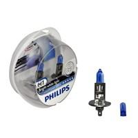 Philips H1 Crystal Vision 12V 55W Far Ampulü (Mavi Park Ampulü İçerir.)