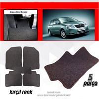 Schwer Opel CORSA D 2006 - 2014 Halılı Oto Paspas Seti Kırçıl-4728
