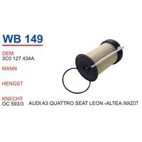 Wunder Seat Leon Mazot Filtresi Oem No:3C0127434a