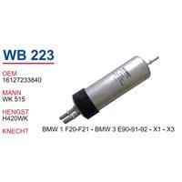Wunder Bmw X3 Mazot Filtresi Oem No:16127233840