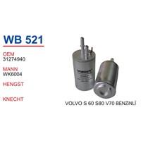 Wunder Volvo V70 Benzin Filtresi Oem No:31274940