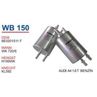 Wunder Audı A4 1.8 T Benzin Filtresi Oem No:8E0201511f