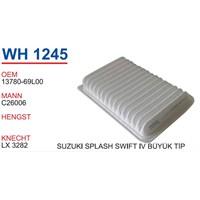 Wunder Suzukı Splash Büyük Tip Hava Filtresi Oem No:13780-69L00