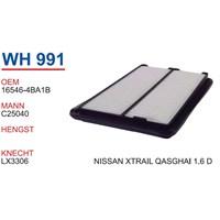Wunder Nıssan X-Trail 1.6 D Hava Filtresi Oem No:16546-4Ba1b