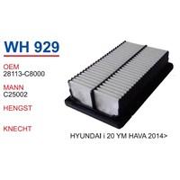 Wunder Hyundaı İ20 2014>> Yeni Model Hava Filtresi Oem No:28113-C8000