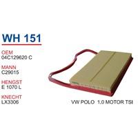 Wunder Vw Polo 1.0 Tsı Hava Filtresi Oem No:04C129620c