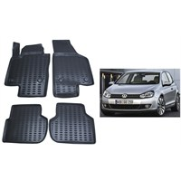 Modacar Exclusive Vw Golf 6 Kasa 3D Havuzlu Paspas 104599
