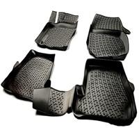 L.Locker Bmw 4 Serisi F36 2013 Sonrası 3D Havuzlu Paspas (Siyah)