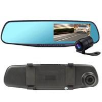 """Probiel Ms430hd 4.3"""" İnç 8Mp Gece Görüşlü Full Hd Dvr Geri Görüşlü Dikiz Aynalı Araç Kamerası"""