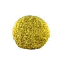 Lake Country Yellow Single Twisted Wool/Acrylic Polishing Pad 190 Mm