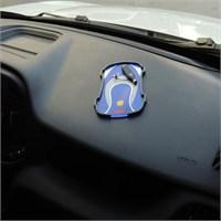 Torpido Üstü Kaydırmaz Arabalı Siyah-Mavi