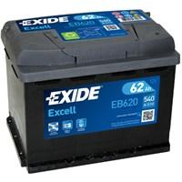 Exide 12V 62Ah 540Cca Excell (60Ah Kutu)-Exide