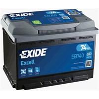 Exide 12V 74Ah 680Cca Excell (72Ah Kutu)-Exide