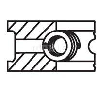 Mahles 00726N0. Motor Segmanı Saxo-Ax-C15-P205-P106 Tu9 / Tu9m Olcu:(1.5*1.5*3) 70,00Mm (Std)