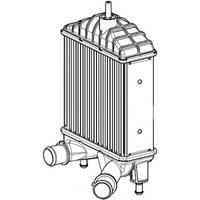 J. Deus Ra8110990 Turbo Radyatörü (Intercooler) Punto 03> 1.3 Jtd 16V-Idea 1.3Jtd 04>(207X193x64)