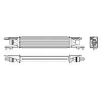 J. Deus Ra8200930 Turbo Radyatörü (Intercooler) Corsa D 06> 1.3Cdtı (70Ps) (450X100x52)