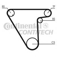 Contitech Ct833 Triger Kayışı (097X150) Tmpr 1.8İe (93-96)-Tıpo 1.8-2.0 (90-95)-Alfa 155 2.0T (92-97) Lancıa Ct833