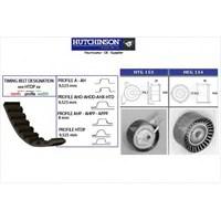 Hutchınson Kh186 Eksantrik Gergi Kiti (220X280) P107-206-207-307-Bıpper-C2-C3-Nemo 1.4Hdı-Fıesta V-Fusıon 1.4Tdcı 02-