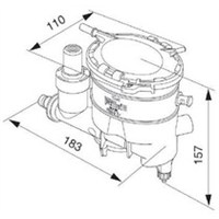 Purflux Fc446 Yakıt Filtresi Kazanlı Komple Partner Dw8