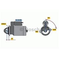 Bosch 0001107437 Marş Motoru Opel-Fıat 1.3 Mtj