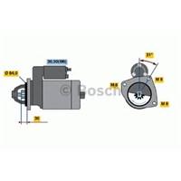 Bosch 0001109306 Marş Motoru 12V 9D Iveco Daıly Iıı 06=>