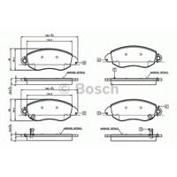 Bosch 0986Tb2049 Ön Balata Transıt V184 01=>