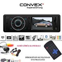 Navix Convex 3 İnç Ekranlı Bluetooth Usb Sd Oto Teyp + Geri Görüş Kamerası