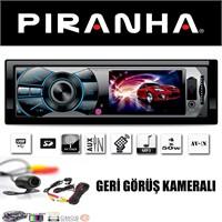 Piranha Cobra R 3'' Ekran Usb/Sd/Av-İn Oto Teyp + Geri Görüş Kamerası