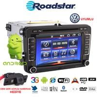 Volkswagen Android Dvd Navigasyon Oem Multimedya Ve Oem Kamera Paketi