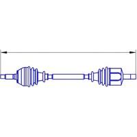 Gsp 218216 (2S61 3B437 Ad)On Aks Sol Fıesta V 1,4 Tdcı 02-08