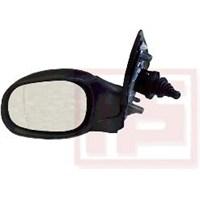 Eurocell Em-206Ha L Dıs Dikiz Ayna Sol (Mekanık - Isıtmalı) P206-P206+(T3e) Isı Sensörlu-Manuel Katlanır Tıp-Astarlı-Asferık Camlı (98-10)
