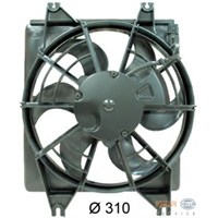 Hcc 9773022080 Klıma Fanı Komple Accent 00->