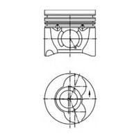 Iss 61147000G Motor Segmanı Partner Iı-Berlıngo Iı-P406-P307-Boxer Iı-Jumper Iı Dw10td(2,0Hdı 8V) P407-P308-C5 Iı-Expert Iıı-Jumpy Iıı Dw10bted4(2,0Hdı 16V) Boxer Iı-Jumper Iı Dw12uted(2,2Hdı 8V) (Olc